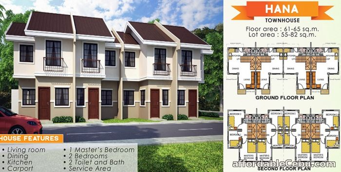 1st picture of 2 storey townhouse for sale in consolacion For Sale in Cebu, Philippines