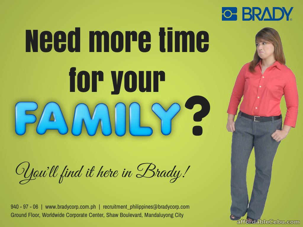 1st picture of Research Analyst - bradycorp.com.ph Looking For in Cebu, Philippines