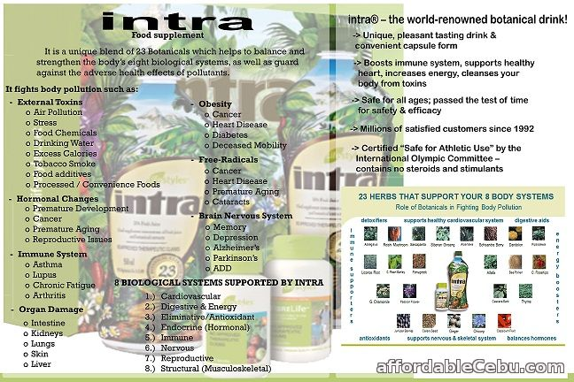 Intra Food Supplement For Sale Cebu City Cebu Philippines