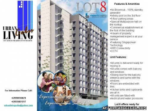 1st picture of Lot 8  @ P. Almendras St., Mabolo Cebu City For Sale in Cebu, Philippines