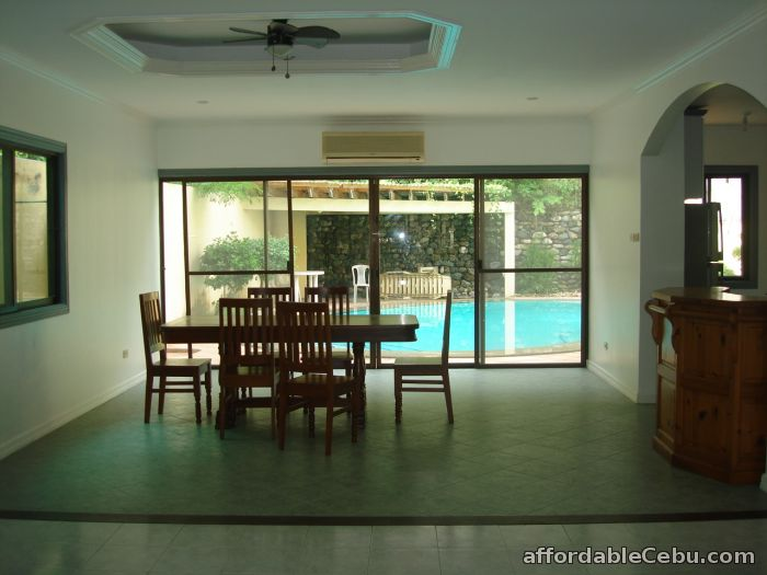 1st picture of 3 bedroom House with pool for Rent in Maria Luisa Banilad ( phase 8) For Rent in Cebu, Philippines