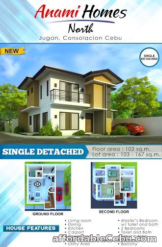 2nd picture of Anami Homes, Jugan Consolacion, North Cebu  SINGLE DETACHED For Sale in Cebu, Philippines