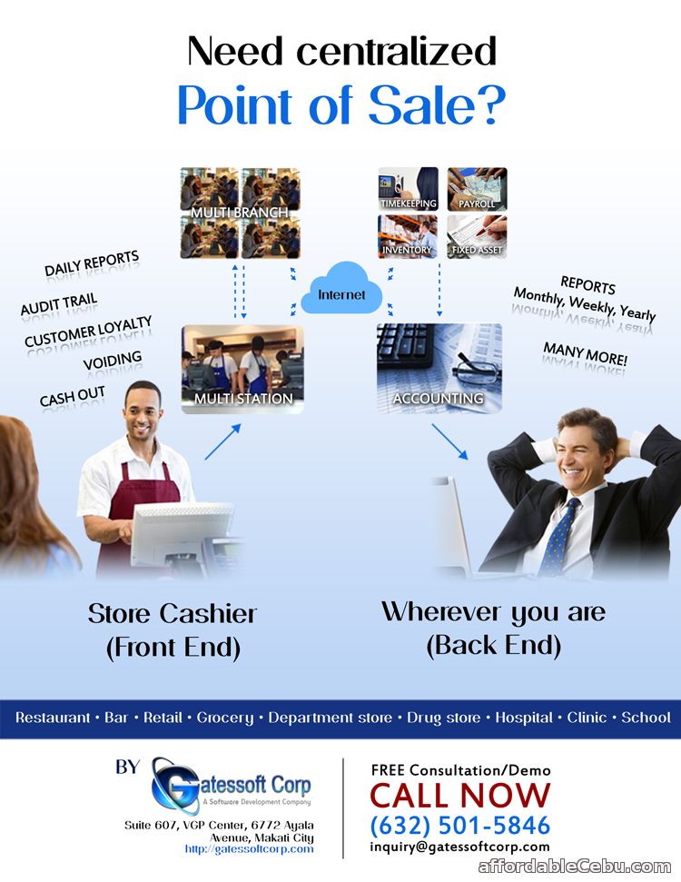 1st picture of Point Of Sale (POS) Software For Sale in Cebu, Philippines