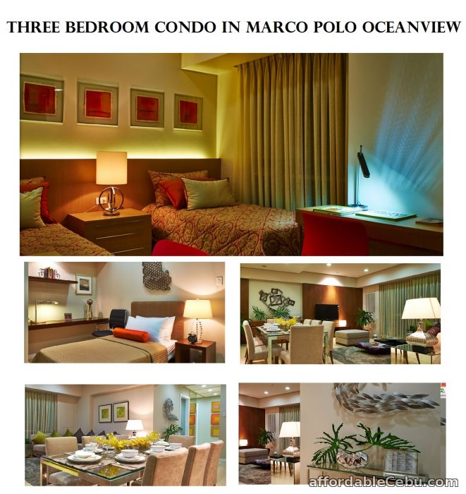 3 Bedroom Luxury Condo In Marco Polo Oceanview For Sale