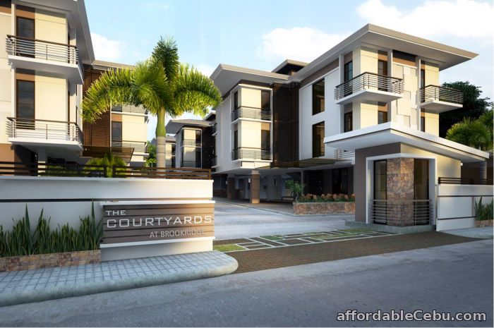 1st picture of 1 br cebu condo unit for sale in the courtyards at  brookridge cebu. Condo For Sale In Cebu
