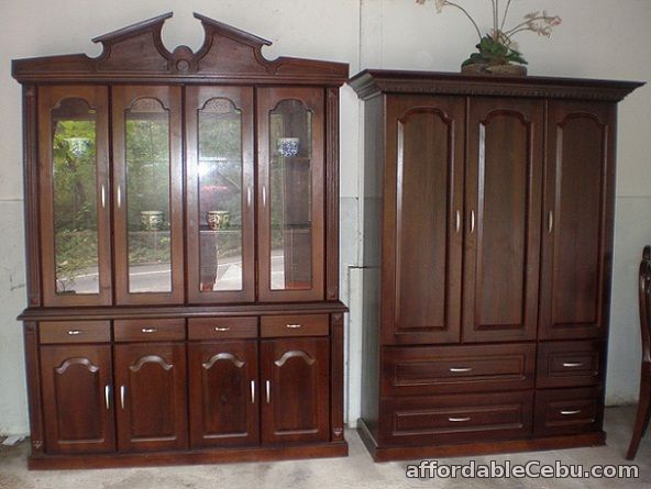 1st Picture Of Mahogany Home Furniture For Sale In Cebu, Philippines