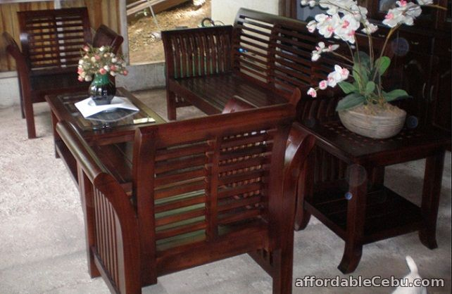 Elegant 2nd Picture Of Mahogany Home Furniture For Sale In Cebu, Philippines
