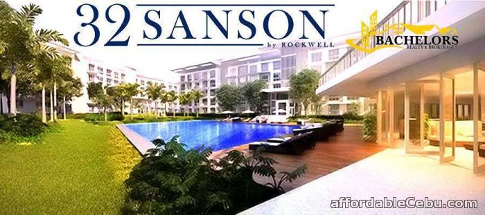 1st picture of 32 SANSON by Rockwell free parking lot for the 2 bedroom unit and 3bedrooms For Sale in Cebu, Philippines