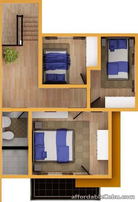 3rd picture of two storey duplex for sale calisto model For Sale in Cebu, Philippines