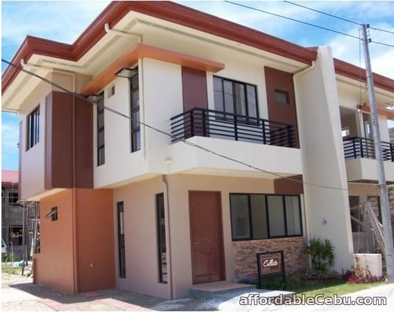 1st picture of two storey duplex for sale calisto model For Sale in Cebu, Philippines