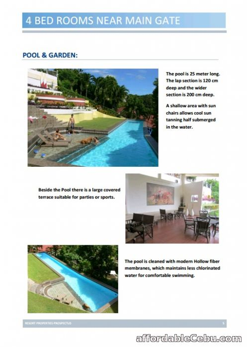3rd picture of Resort Living House and Lot for Rent in Maria Luisa Cebu For Rent in Cebu, Philippines