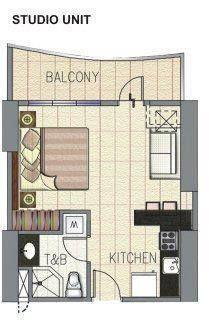 1st picture of Rent to own condominium unit in Lapu-lapu Cebu Studio unit For Sale in Cebu, Philippines