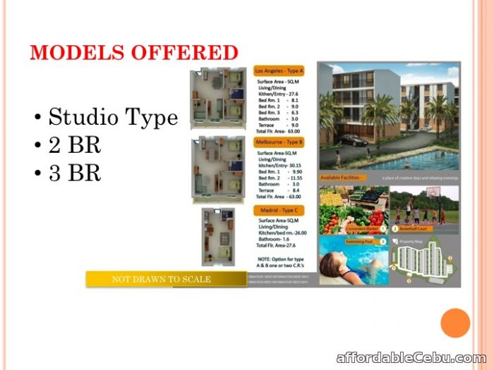 3rd picture of Affordable 3 BR 1 T&B Condominium Unit For Sale For Sale in Cebu, Philippines