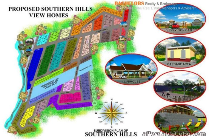 5th picture of lots in Minglanilla Southern Hills View Homes Subdivision For Sale in Cebu, Philippines