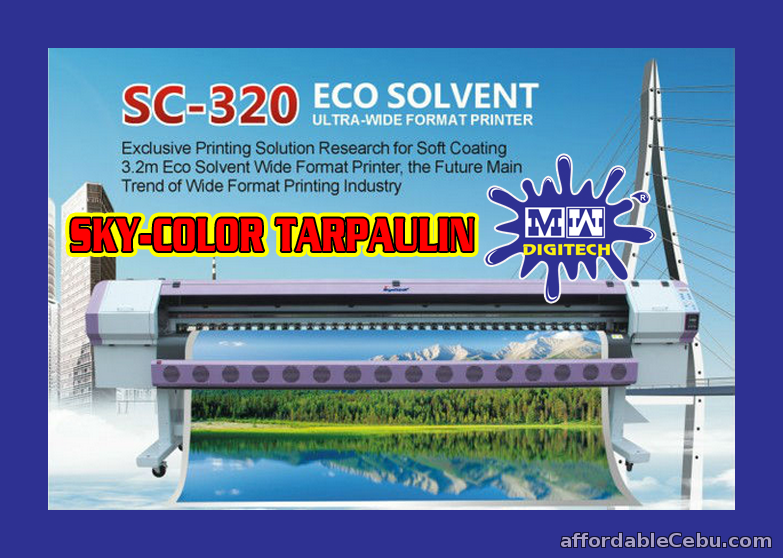 Sky Color Sc 6180s Epson Dx5 Head Tarpaulin Machine For