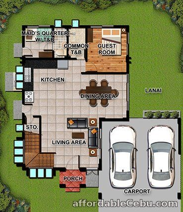 3rd picture of House and Lot in Fonte Di Verssailles(Milano Model)in Minglanilla Cebu For Sale in Cebu, Philippines