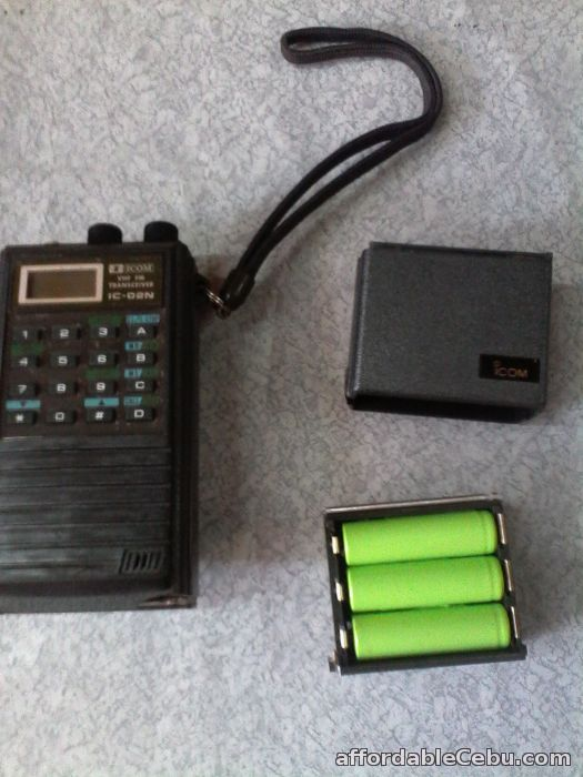 Icom Vhf Transceiver Ic 02n For Sale Cebu City Cebu