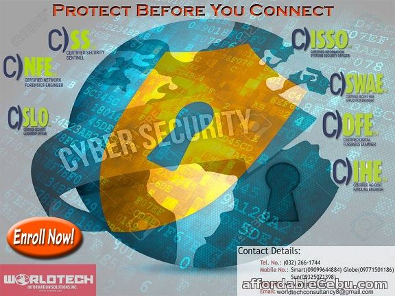 1st picture of Cyber Security Training. Protect Before You Connect. ENROLL NOW! Announcement in Cebu, Philippines