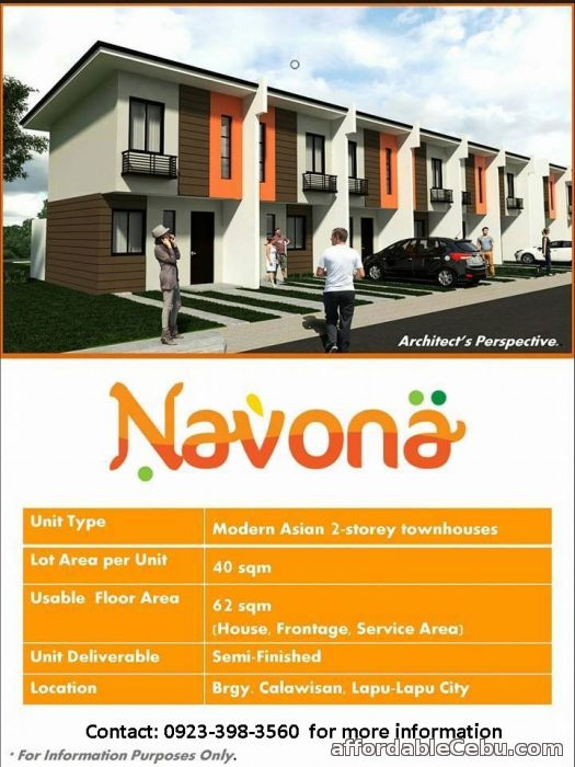 1st picture of Navona Subdivision in Calawisan Lapu-lapu City 09233983560 For Sale in Cebu, Philippines