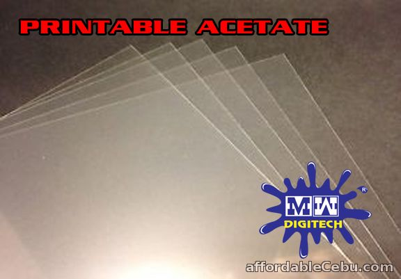 PRINTABLE ACETATE INKJET FRIENDLY A4 P7.00 EACH For Sale ...