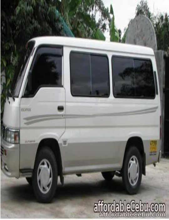 1st picture of Van for RENT suitable for City Tour in just AFFORDABLE PRICES!!!! For Rent in Cebu, Philippines