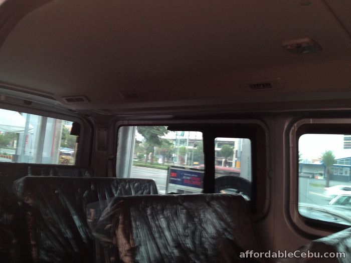 4th picture of Latest 2.5L Nissan NV350 Urvan 18 seaters Manual 2015 Announcement in Cebu, Philippines