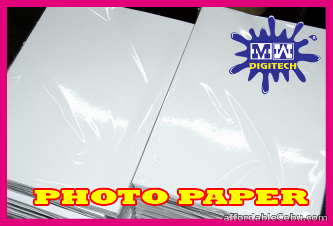 1st picture of PHOTO PAPER GLOSSY 180 GSM A4 SIZE P45.00 PER PACK OF 20 PIECES For Sale in Cebu, Philippines