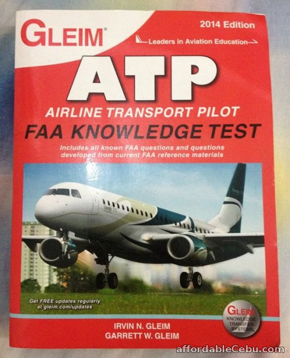 1st picture of Gleim's Airline Transport Pilot 2014 edition For Sale in Cebu, Philippines