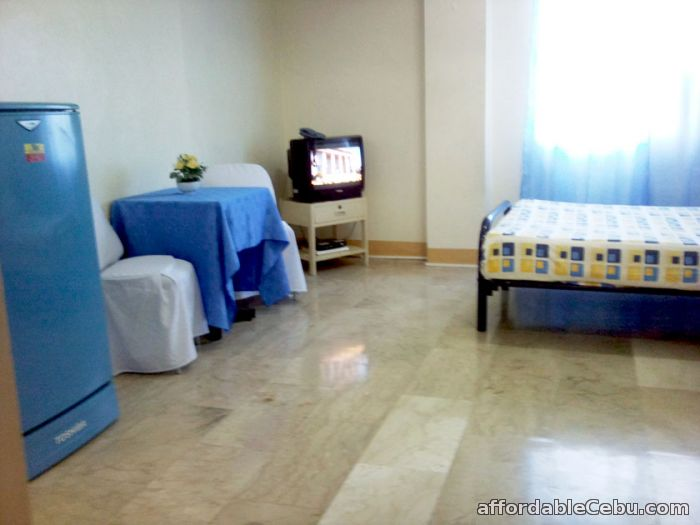 4th picture of 13800  Condo studio type with queen size bed,wifi,24/7 security For Rent in Cebu, Philippines
