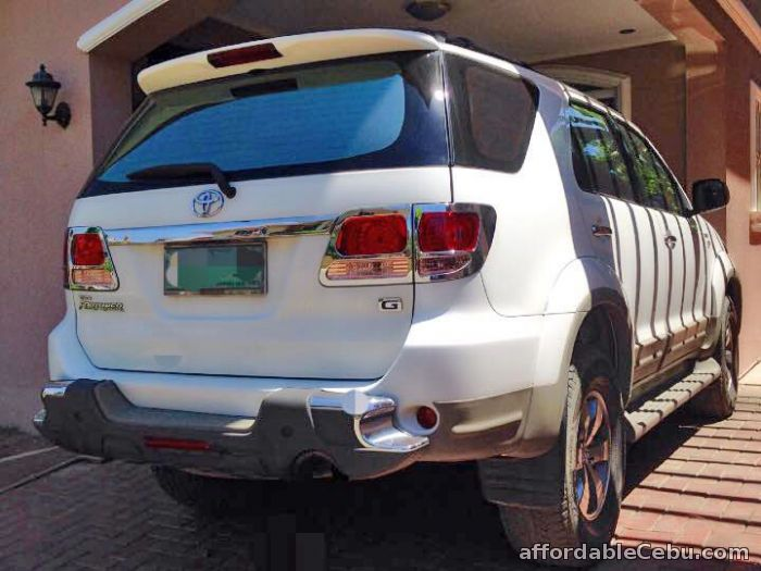 1st picture of For Sale Toyota Fotuner 2007 model. For Sale in Cebu, Philippines