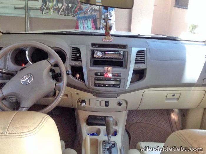 2nd picture of For Sale Toyota Fotuner 2007 model. For Sale in Cebu, Philippines