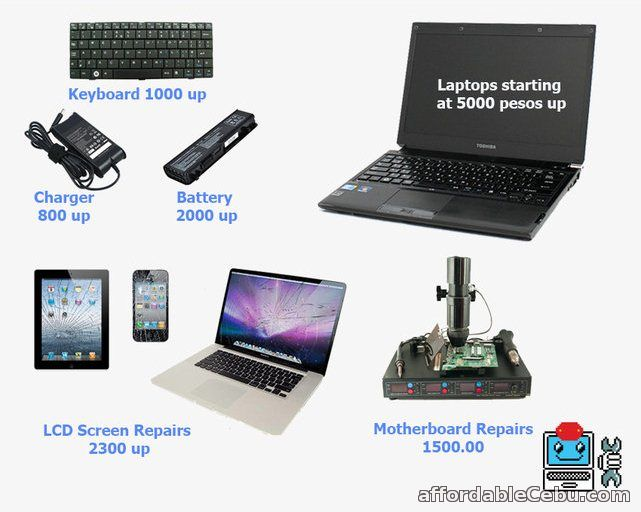 1st picture of Laptop Repair at Good Reasonable Rate Offer in Cebu, Philippines