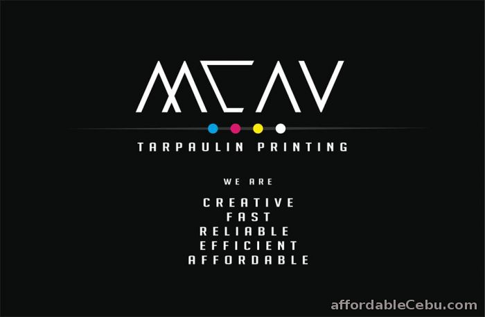 3rd picture of MCAV Affordable & Quality Printing Services! Advertising, Stickers, Tarpaulin P9/ sq. ft, Car decals & More For Sale in Cebu, Philippines
