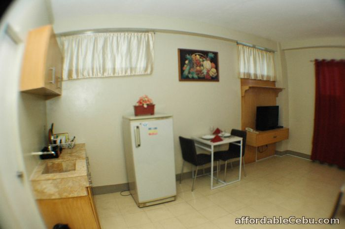 5th picture of Fully furnished studio rooms for rent with free motorcycle ride to tour in cebu For Rent in Cebu, Philippines