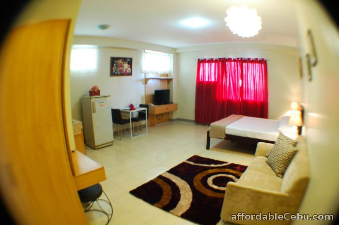 3rd picture of Fully furnished studio rooms for rent with free motorcycle ride to tour in cebu For Rent in Cebu, Philippines