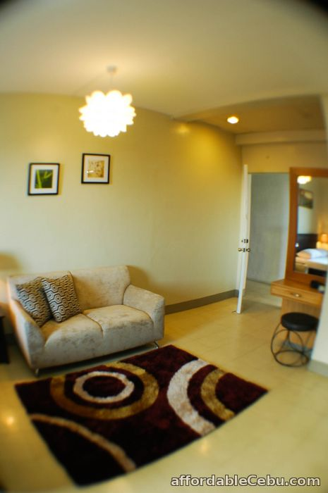 2nd picture of Fully furnished studio rooms for rent with free motorcycle ride to tour in cebu For Rent in Cebu, Philippines