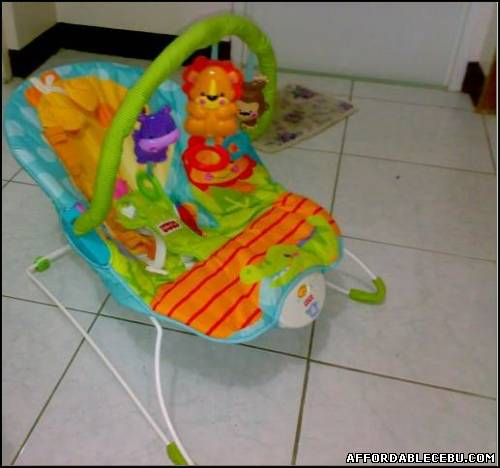 1st picture of Fisher-price precious planet HAPPY GIRAFFE BOUNCER For Sale in Cebu, Philippines