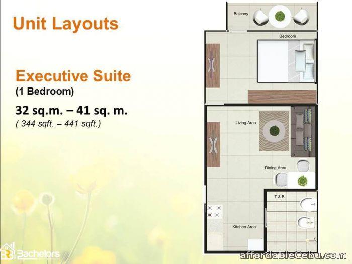 4th picture of Condominium for sale in CEBU CITY 1 bedroom unit For Sale in Cebu, Philippines