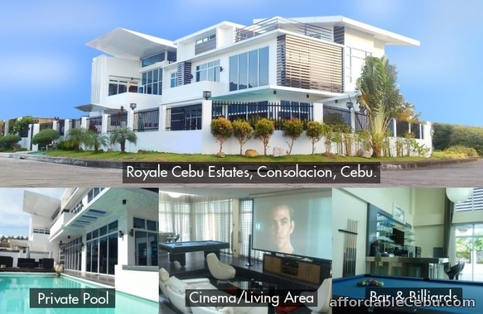 1st picture of House4SaleCebu. Executive house with private swimming pool, Consolacion, Cebu. For Sale in Cebu, Philippines