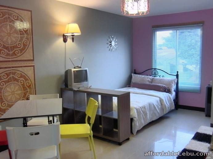 1st picture of Affordable Fully-furnished Studio Unit Condo in Tipolo Mandaue for Rent For Rent in Cebu, Philippines