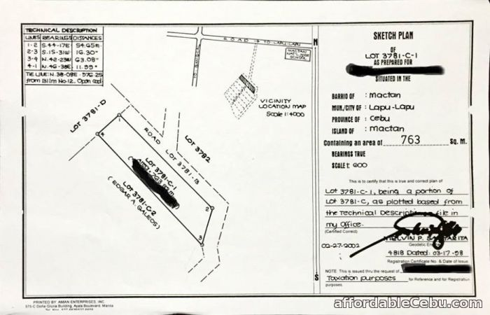 3rd picture of Residential Lot for Sale in Mactan Lapulapu Cebu near Bigfoot For Sale in Cebu, Philippines