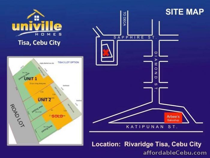 5th picture of UNIVILLE HOMES - Tisa, Labangon, Cebu City - 2.9M For Sale in Cebu, Philippines