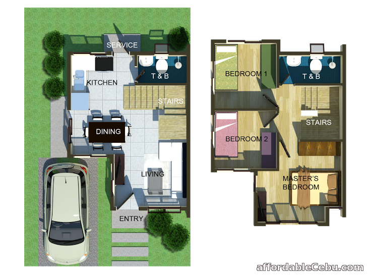 3rd picture of Giovanni Single Detached @ St Francis Hills - as low as 23,000/mo For Sale in Cebu, Philippines