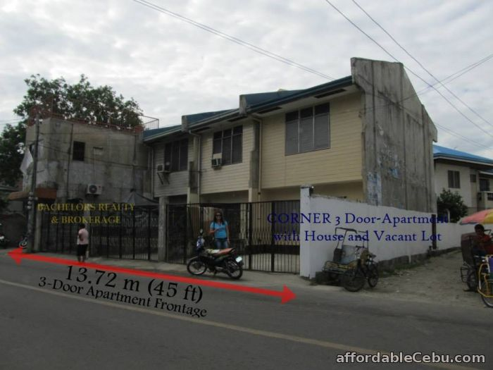 4th picture of 3-Door Apartment For Sale with House & Lot For Sale in Cebu, Philippines