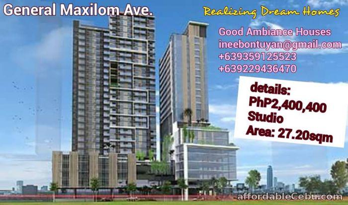 1st picture of Studio Unit Condominium in General Maxilom Ave. Cebu City For Sale in Cebu, Philippines