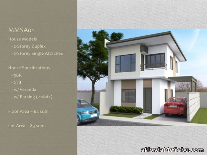 1st picture of DUPLEX HOUSE AND LOT in Cubacub mandaue City cebu For Sale in Cebu, Philippines