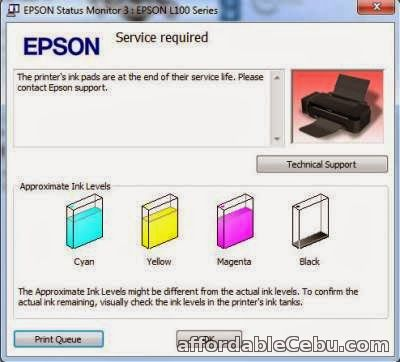 3rd picture of New Epson L120/ L220/ L1300/ L1800 printer waste ink pad counter reset @ cebu inkwell For Sale in Cebu, Philippines