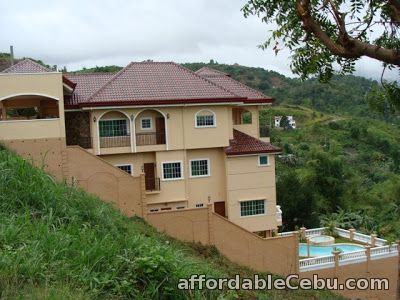 1st picture of 4 Level House w/ Pool Fully Furnished Sunny Hills Sub. Talamban Cebu City 16m For Sale in Cebu, Philippines