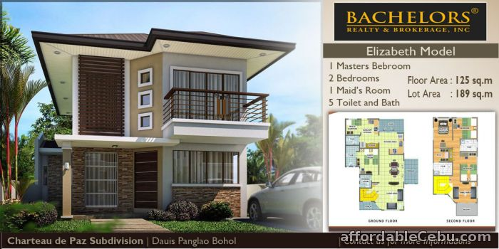 4th picture of Mactan Subabasbas H& Lot FOR SALE Beatrice Model For Sale in Cebu, Philippines