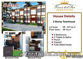 5th picture of Talisay Townhouse FOR SALE Beatriz Model For Sale in Cebu, Philippines